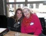 Secretary Joanna and New Member Nancy.
