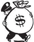 policesackmoney