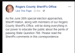 Rogers County Sheriff
